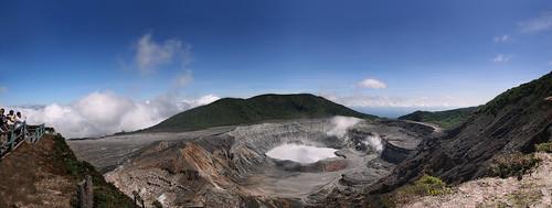 Poas Volcano Panorama