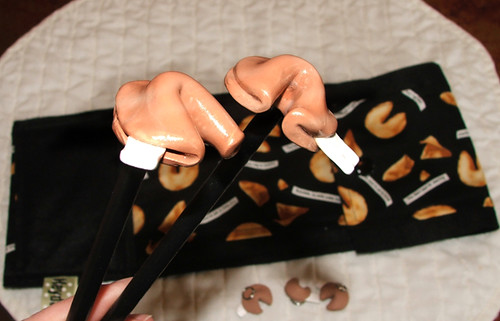 Fortune Cookie Knitting Needles