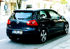 VW Golf GTI V (pedrosimoes7) Tags: blue portugal car golf volkswagen gti viseu worldcars