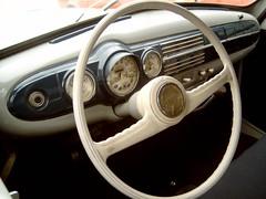 1954 Skoda 1200, dashboard (Davydutchy) Tags: vintage classiccar czech oldtimer dashboard veteran steeringwheel skoda thebiggestgroup skoda1200 copyrightdavydutchy ux1586