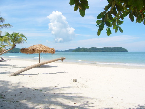 Playa en Langkawi