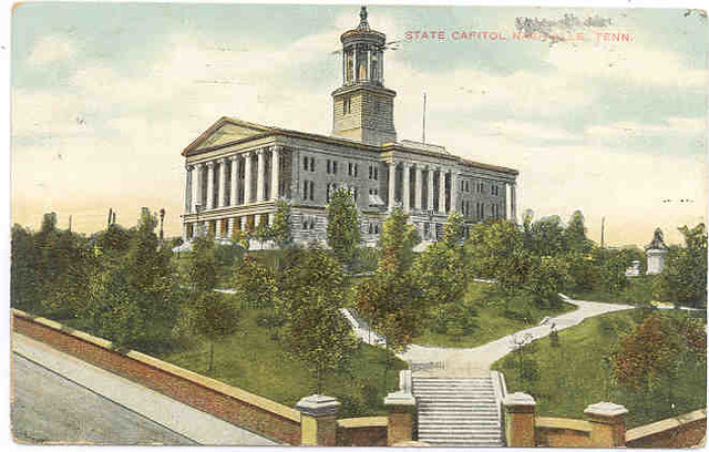 Post card from the 1910s: state Capitol