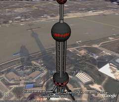 Mission Impossible 3 buzz on google earth