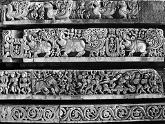 Halibedu-06 (Ravages) Tags: world old travel sculpture india history monument stone temple asia time carving temples karnataka monuments indianarchive halebid belur indianness hoysala halibedu hoysalas dakshinkannad visitindia visitchennai