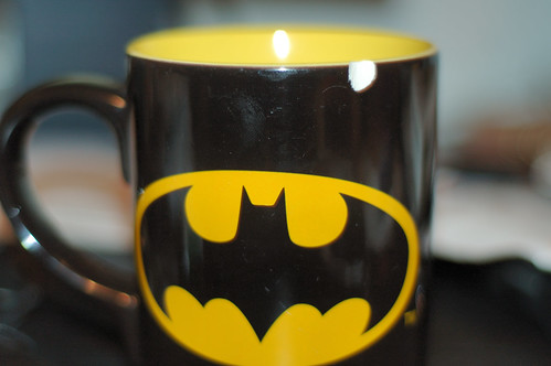 My Chipped Batman Mug