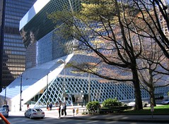 Seattle Public Library (Mike Dole) Tags: seattle washington library wa seattlepubliclibrary wastate washingtonstate kingcounty kingcountywa kingcountywashington