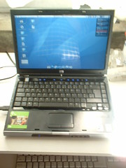 HP Pavilion dv1597ea + Ubuntu 6.06 ß1 (FLICK)R...