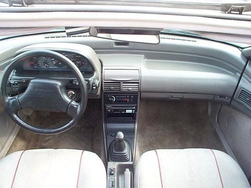ford probe gt interior. Ford Probe GT interior