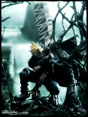 Cloud Strife KINGDOM HEARTS Ver. (EdwardLee's collection) Tags: cloud toy toys disney collection explore final fantasy videogame squareenix finalfantasy kingdomhearts ffvii cloudstrife formationarts edwardlees