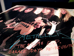 Metallica, Garage Days (massdistraction) Tags: records metal vinyl metallica jasonnewsted metalheads kirkhammett larsulrich jameshetfield garagedays garagedaysrevisited the598ep somekindofmonsters