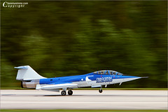 Starfighter Take Off (Tommy Simms) Tags: motion art 20d plane airplane flying canon20d aircraft aviation airplanes jet canoneos20d airshow planes panning canoneos airshows militaryaviation f104 starfighter tommysimms 24907 ef70200mmf28lisusm starfighters angelsoveratlanta nasatlanta copyrightwwwtommysimmscom