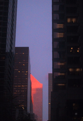 Citi Building at Sunset by you.