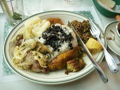 Cuban Meal
