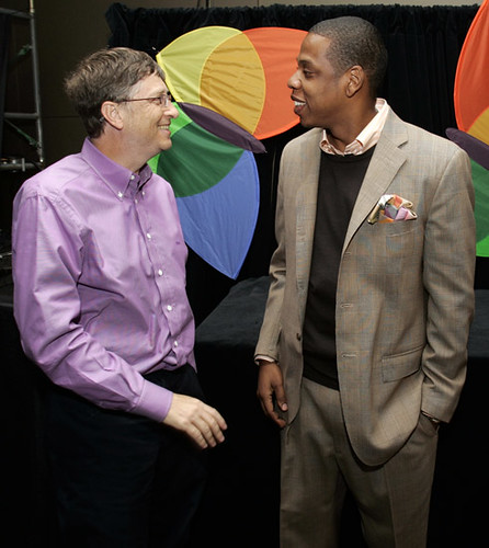 Bill Gates and Jay Z