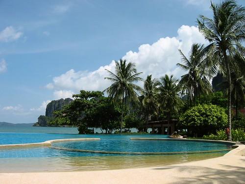 Hotel Rayavadee en Krabi, Tailandia
