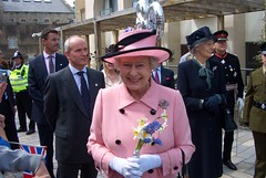 Queen´s visit to Oxford Castle