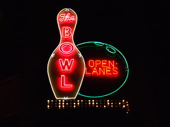 The Bowl (Curtis Gregory Perry) Tags: old vegas light signs classic luz glass sign night vintage ball advertising licht neon glow open bright lasvegas lumire nevada tube tubes bowl ne retro nv bowling signage glowing dying luce muestra important signe sinal neons lanes  zeichen non segno     teken     glowed    neonic