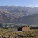 Bamyan, Afghanistan, in the morning