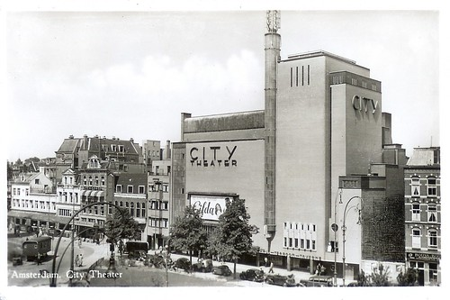 City Theater, Amsterdam, ca. 1948 / Roloff de Jeu