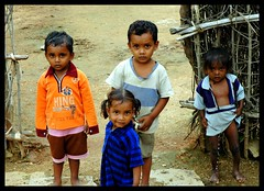 Almost scared the crap out of him. (Shreyans Bhansali) Tags: india children crap ap summer2005 scared vinayak andhrapradesh mvf nalgonda 27july2005 httpwwwmvfindiain