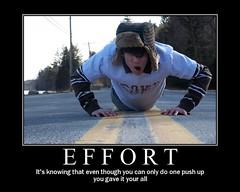 Effort (ESkAP) Tags: road up work fdsflickrtoys hard effort puch pushup