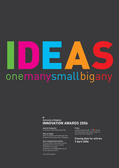 Innovation Awards Poster Design Final