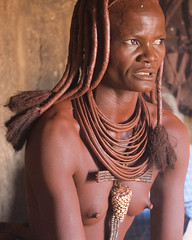 The Head Villager (Andrew Luyten) Tags: africa people geotagged desert african culture tribal safari afrika tribe ethnic namibia tribo himba afrique ethnology tribu namibie tribus ethnie keadventure geo:lat=1967025 geo:lon=15021