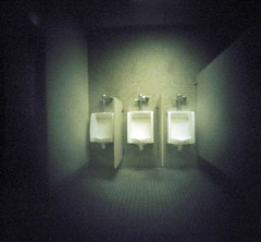 (~pf) Tags: urinals 81 cheapfilm pinholes i500 matchboxpinhole