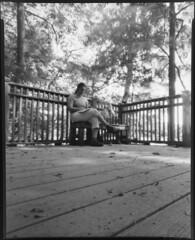 Presence (SEngstrom) Tags: longexposure bw pinhole ilforddelta100 8x10film