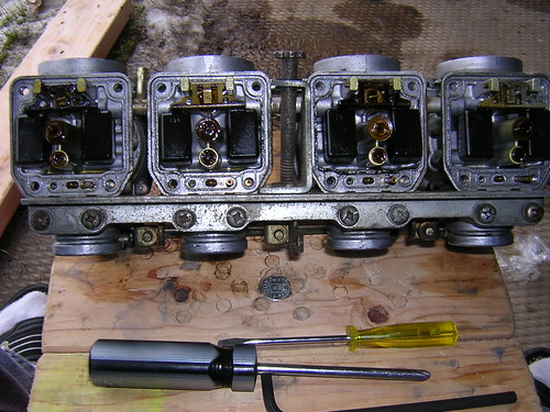 Hitachi Carbs Bowls Removed