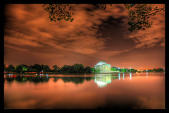 Jefferson Memorial Just After Midnight - by Stuck in Customs