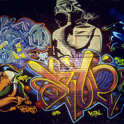 One of Mojos Graffiti Painting Collections