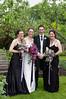 bride & siblings