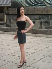 strike a pose (vfowler) Tags: 15fav woman sexy girl topv111 japan topv2222 1025fav 510fav asian japanese topv333 kamakura topv1111 topv999  topv3333 topv666 kanagawa   999v9f 666v6f 10faves