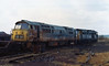 D1007. (Fray Bentos) Tags: england swindon accidents railways britishrailways westernregion dieselhydrauliclocomotive railwayaccidents traincrashes d1007westerntalisman