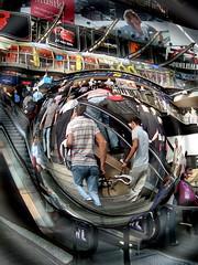 Symbolfoto: Überwachung / Kamera im Hamburger Hauptbahnhof