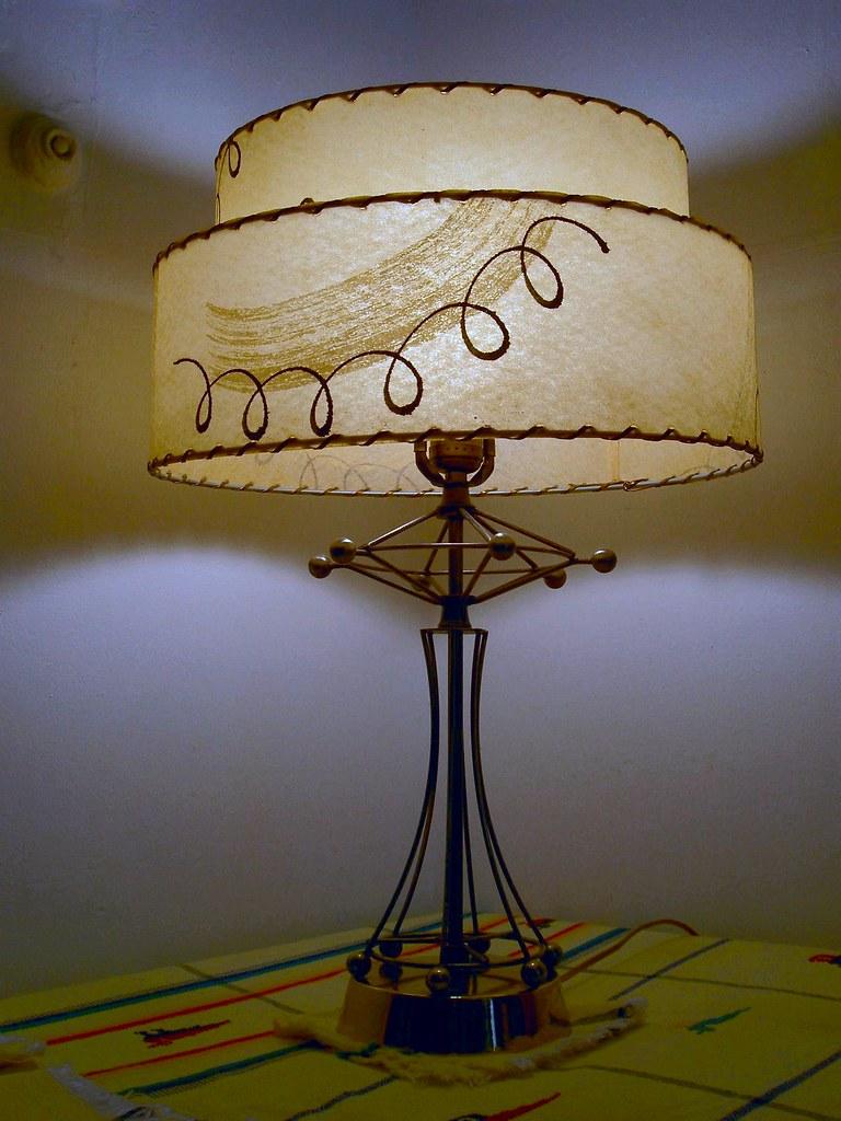 Fiberglass Lamp 50s