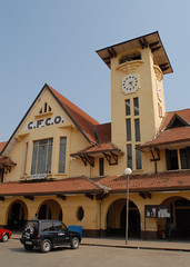 Pointe Noire Station, Congo (focalplane) Tags: africa railroad station railway congo pointenoire