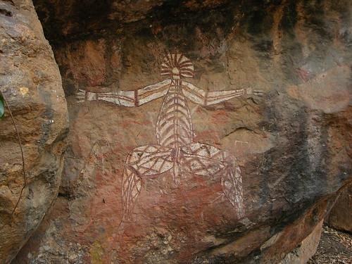 Рисунок аборигенов nabulwinjbulwinj