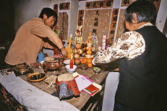 family altar (AsianInsights) Tags: china asia buddhism altar yunnan tonghai romanachapman gettyimagessoutheastasiaq1