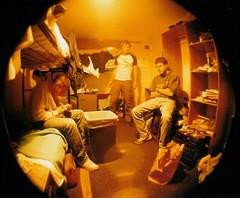 Hostel Fisheye (o_sam_o) Tags: london hostel fisheye