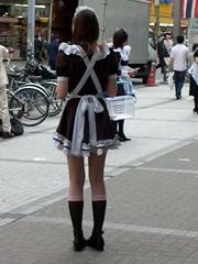 10 Maid Cafe - Akihabara (avlxyz) Tags: cute tokyo casio akihabara maid exilim kawai maidcafe maido z850