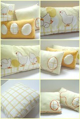 - I  Pillows - (Warm 'n Fuzzy) Tags: cute yellow birdie egg pillow chickie warmnfuzzy warmnfuzzynet