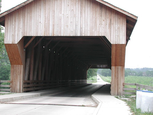 Modern covered bridge | Flickr - Photo Sharing!