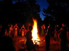 Zumwalt Bonfire