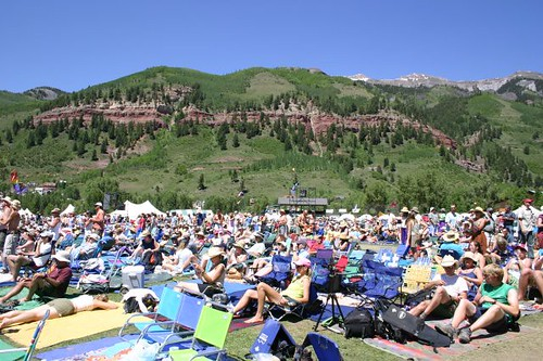 Telluride Bluegrass 2005 Crowd by Jen McCutcheon.