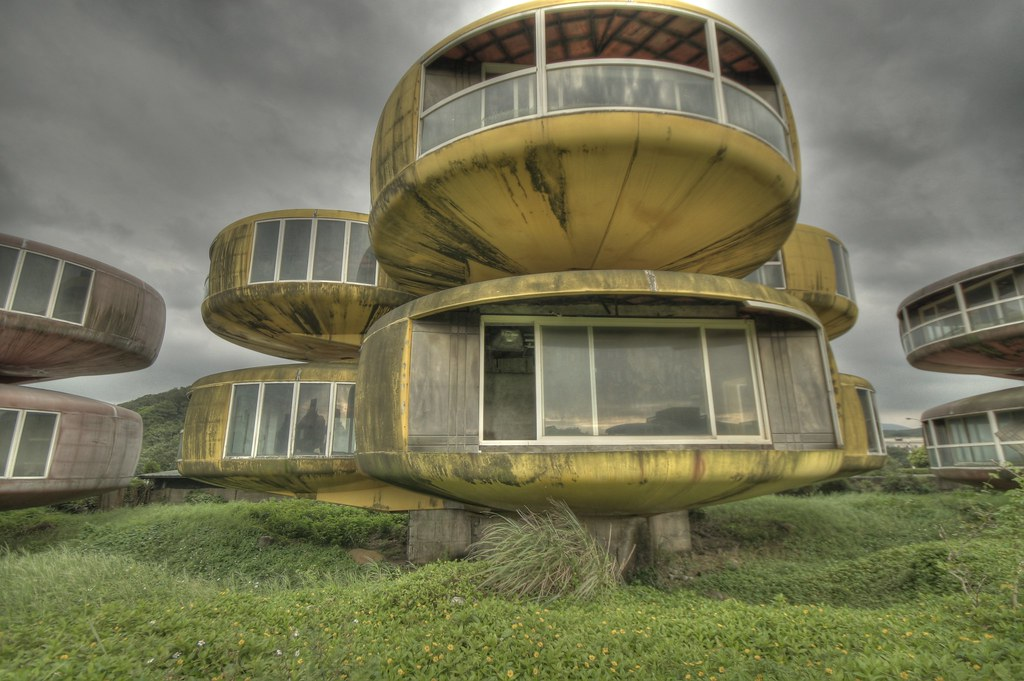 三芝飛碟屋 the UFO house in Sanjhih