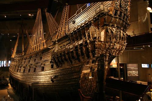 Vasa – это единственный в мире сохранившийся до наших дней корабль XVII века