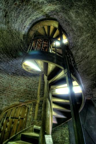 juliusturm - spiral stairs