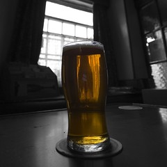 I NEED BEER! (tricky (rick harrison)) Tags: beer amber hiking yorkshire dent refreshing dales realale whernside 10mm ribbleshead brewary dentdale ohsonice sothiswentstraighttomyhead idnoteatenallday uberwideangle